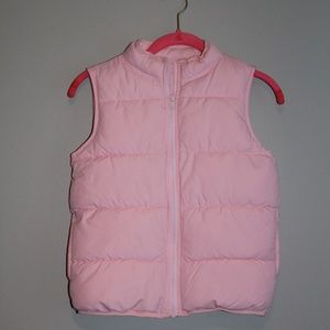 Gymboree puffer vest, girls L(10-12)
